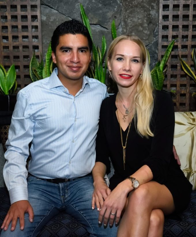 Alan Alvarado y Ksenia Yakhnenko
