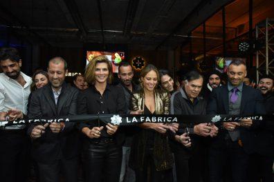 Evento: Inauguraci—n de La Fabrica en Palacio de hierro Santa Fe. 28 de Noviembre 2018. Fotos: Ver—nica Gardu–o Soto. Pie de Foto: Corte de List—n.