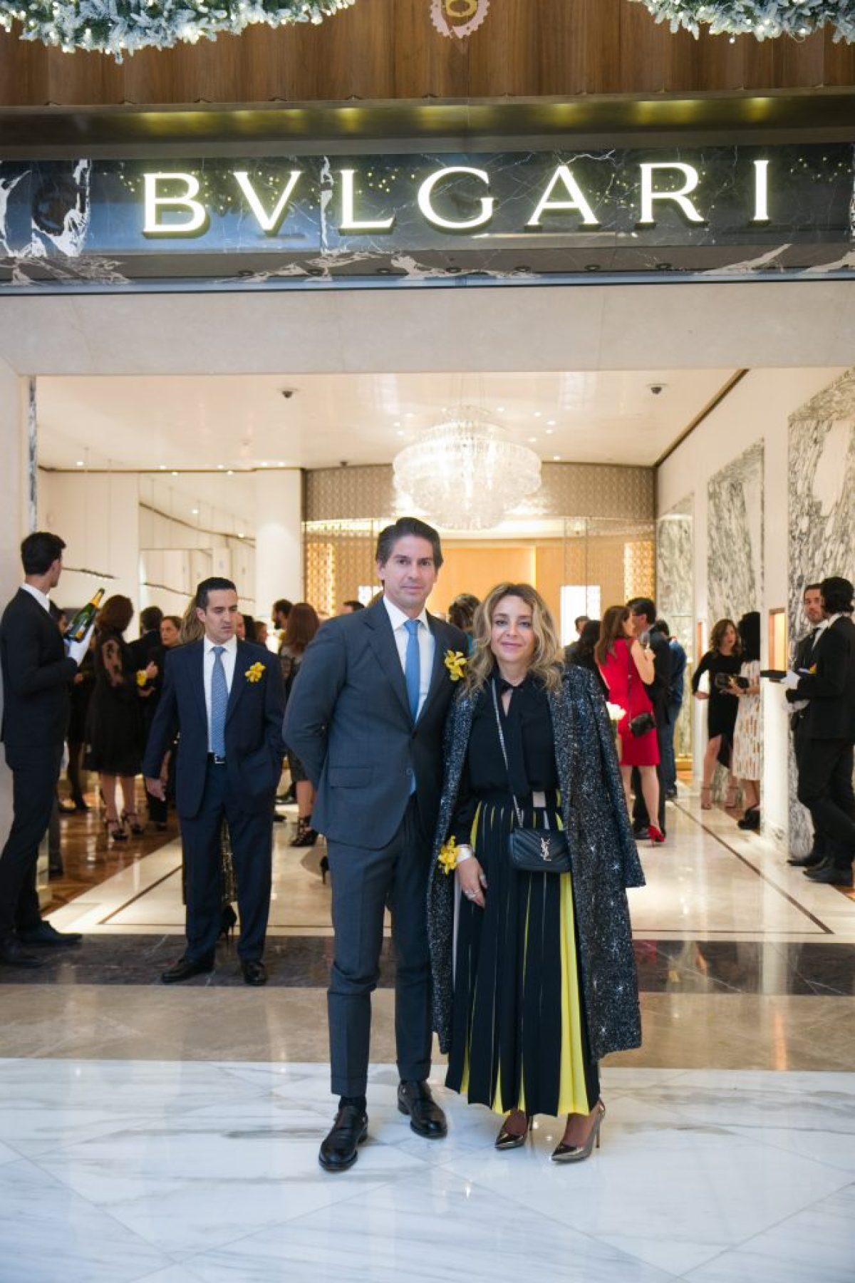Abelardo Marcondes y Luisa Serna
