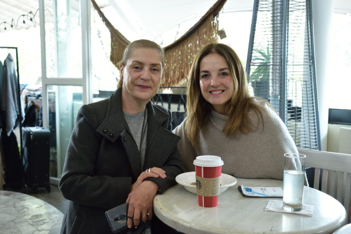 Beatriz Raya y Tere Obreg—n
