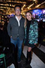 MAuricio López Melo, Fernanda Cabello