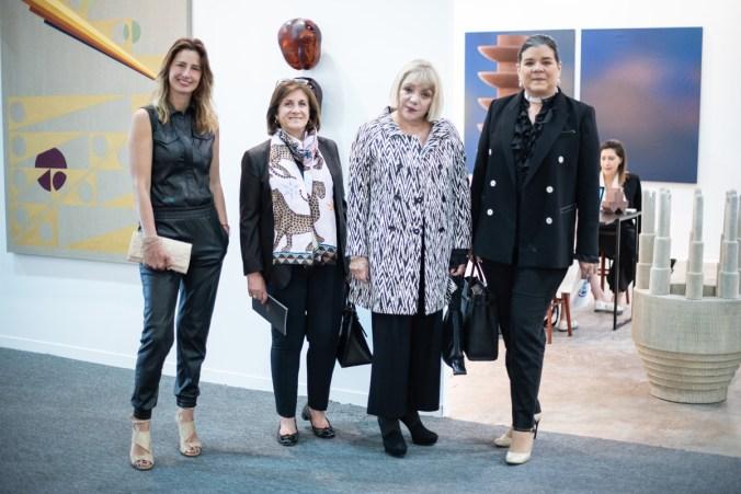 Mariana Zesati, Cecilia García, Malu Montes de Oca, Sonya Santos