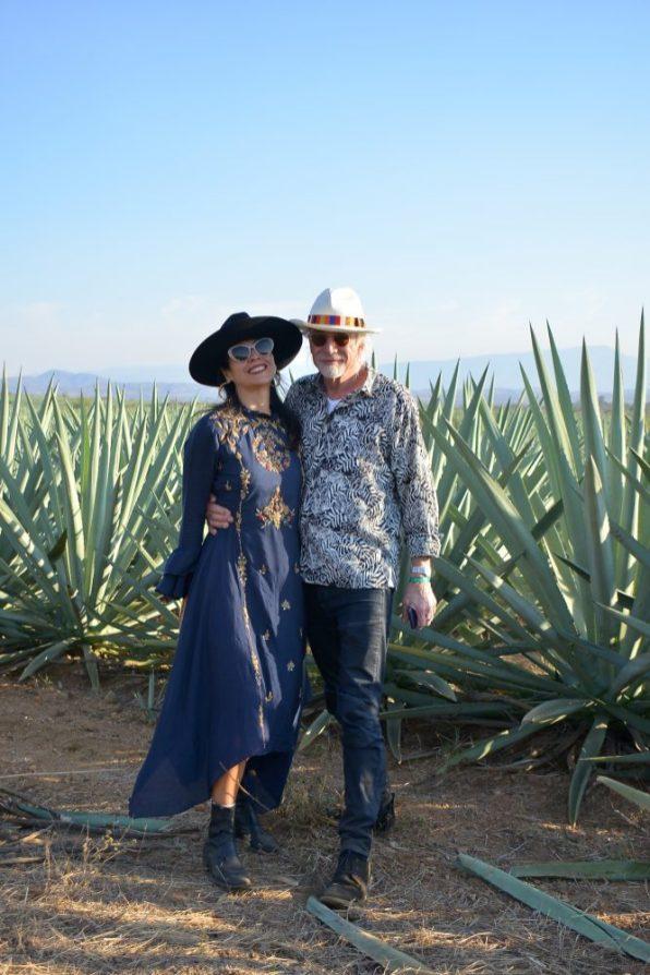 9 de marzo, Mezcal Amores Experience, Fiesta, Oaxaca, Oaxaca, Marcella Ciacci y Sebastian Gieffer, FOTO: Hildeliza Lozano