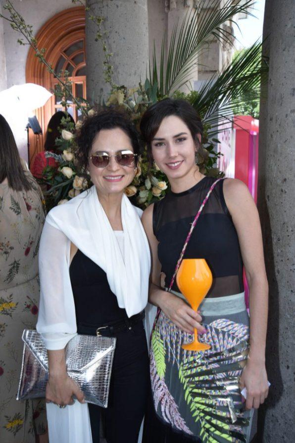 Damayanti Quintanar y Ximena Romo