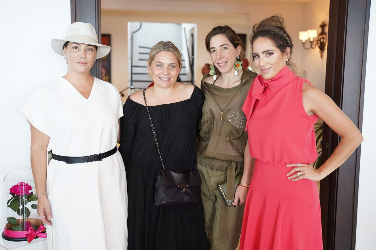Soledad Lowe, Angie Ferrer Domecq, Daniela Morgenstern, & Andrea Minski