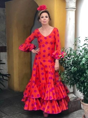 Agatha Ruiz de la Prada, muy a su estilo colorido