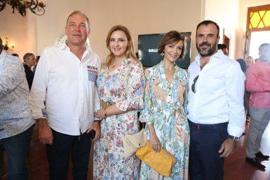 Carlos Lam, Sara y Telma Ramos , Jose Antonio Otero