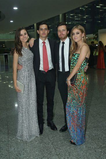 Natalia Zavala, Juan Carlos Tubilla, Federico Sordo y Lorenza Barona.