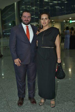 Mario López y Gina Bastida.