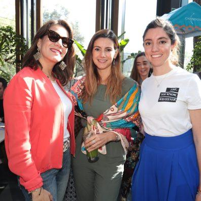 Lorena Calderon, Elisa Cardenas, Claudia Montes