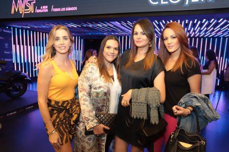 Ximena Sanchez Conde, Loli Roseck, Mariana Gómez-Luna, Lili Fernandez