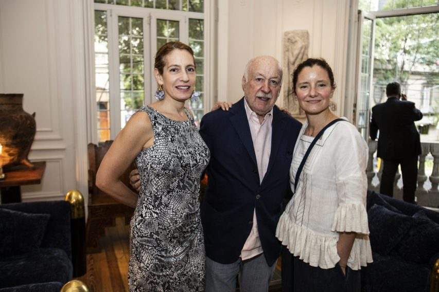 Paulina Newman, Bruno Newman, Elena Reygadas