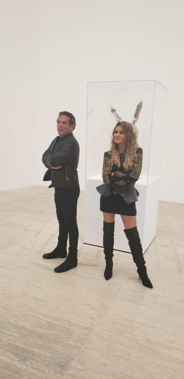Eugenio López y Paulina Rubio