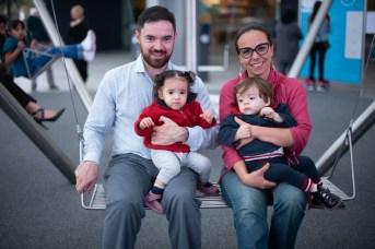 Carlos Díaz, Aline Matos, Victoria Díaz, Luciano Díaz