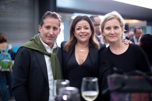 Moises Micha, Fanny Carrillo, Ana Elena Mallet