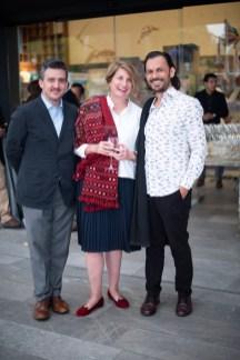 Carlos de la Mora, Dolores Beistegui, Luciano Matos