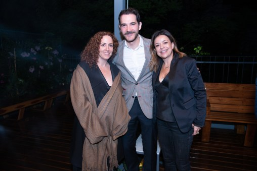 Viviana Kuri, Juan Acevedo, Fanny Carrillo
