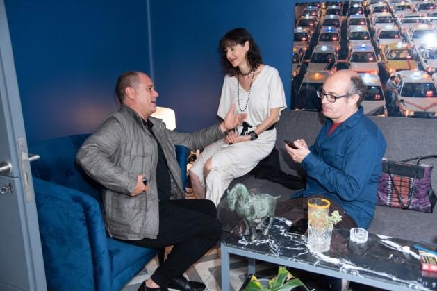 Eduardo Rivas, Patricia Ramírez, Manuel Rocha