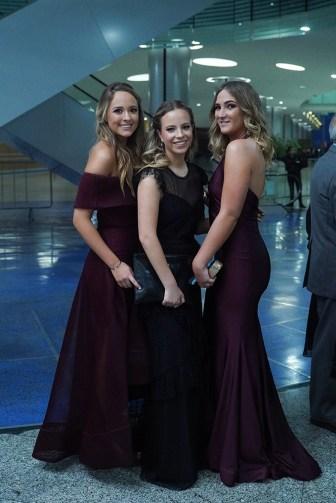 Paola Rodriguez, Paola Serrano y Ana Paula Rodriguez