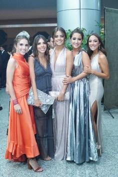 Lucia Santisteban, Lucia Garcia, Camila Ortiz, Daniela Quintanilla y Sofia Uribe