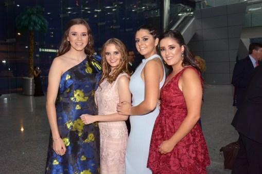 Begoña Guerrero, Nicole Heidkamp, Jacinta Creel, Francisca Borja