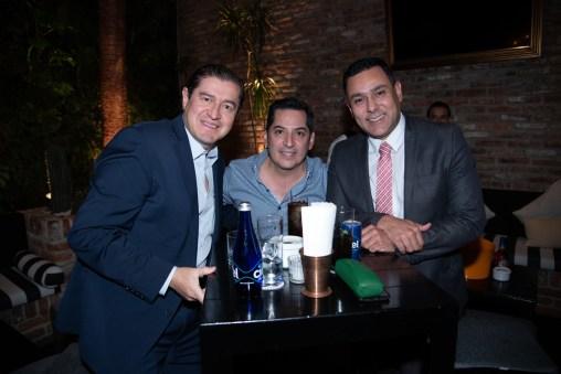 Luis Rivas, Óscar Moreno, Fernando Cervantes