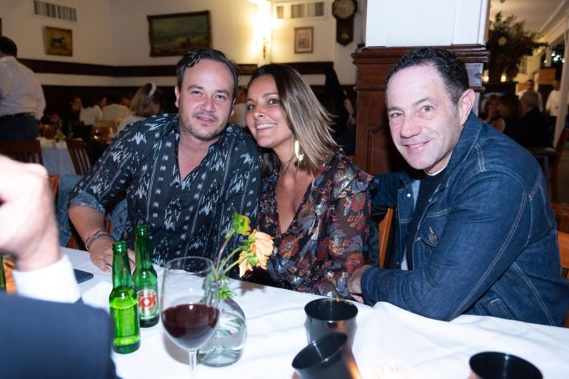 Andrés Carretero, Alejandra Martínez, Sergio Berger