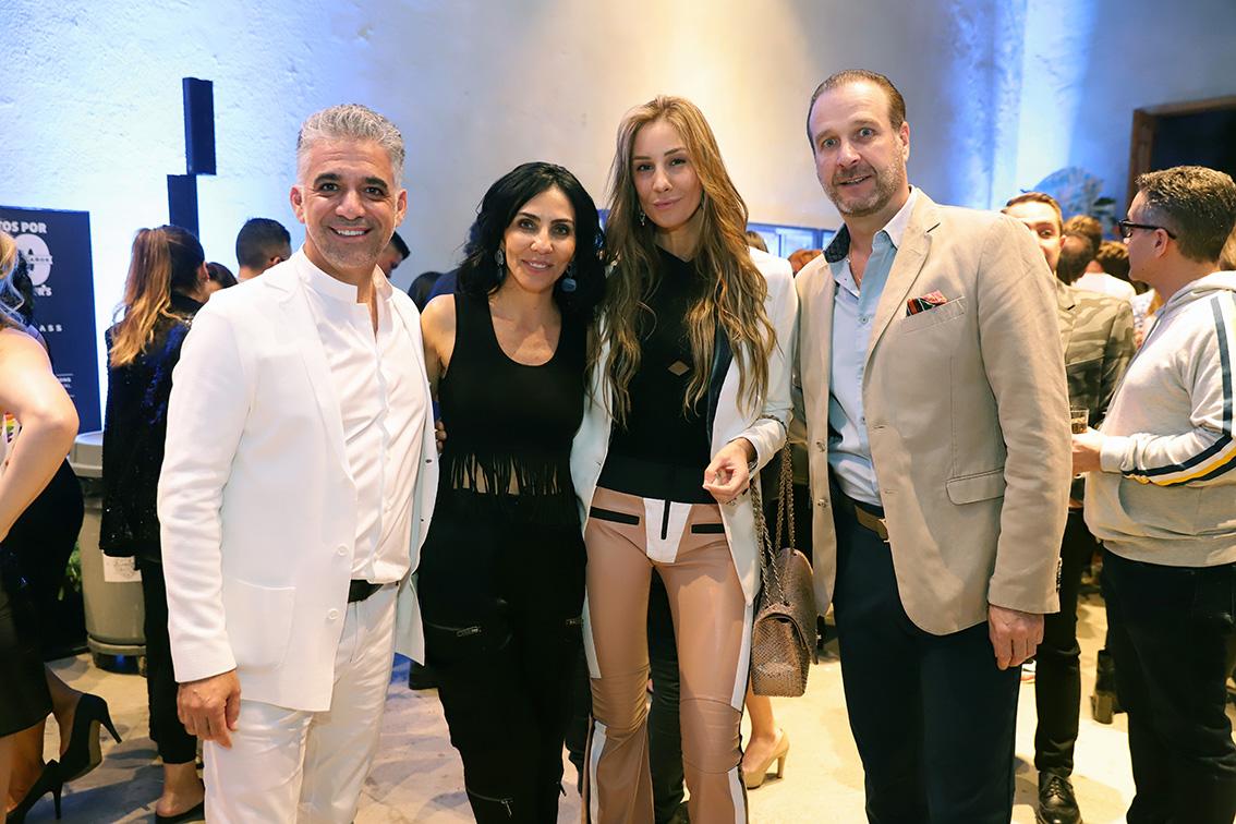 Charles Hamparzumian ,Sandra Silvia, Ana y Fernando Gonzalez