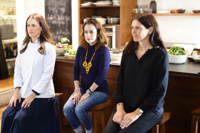 Georgina Ferrer, Andrea Peña y Elodie Weil