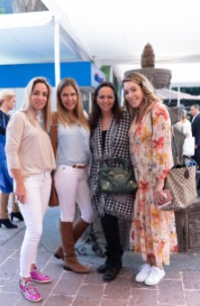 Paula Arango, Evelyn Peralta, María Gamiz, Mónica Nuñez