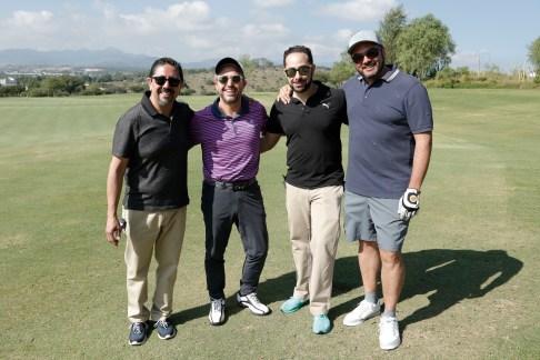 Victor Enriquez, Carlos Contreras, Ramon Zapan y Eduardo Pulido