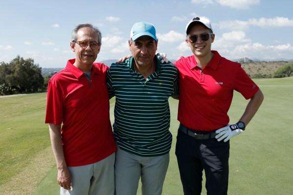 Ramon Garcia, Ernesto Casas y Alex Rodriguez