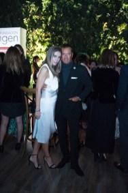 10octubre 2019. Gala 20 años Fundación Origen. Jardín Santa Fe. Margarita Beristain y Alvaro Escobar Fotos : Héptor Arjona
