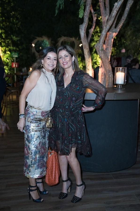 10octubre 2019. Gala 20 años Fundación Origen. Jardín Santa Fe. Fanny Carrillo y Maricarmen Solís Fotos : Héptor Arjona