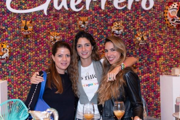 Karina Greenhan, Dakia Alcerreca, Cristina Alcerreca
