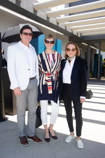 FOTO: Marcelo de Lucca, Laura Wie e Lenny Niemeyer - Brunch LuxuryLab Brasil (29/09/2019) ©2019 Samuel Chaves/S4 PHOTOPRESS