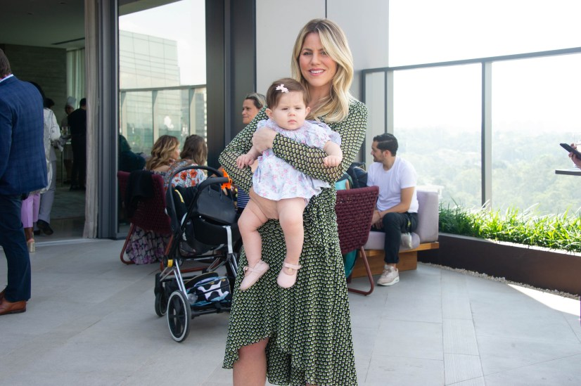 FOTO: Marina Mantega e a filha Isabela - Brunch LuxuryLab Brasil (29/09/2019) ©2019 Samuel Chaves/S4 PHOTOPRESS