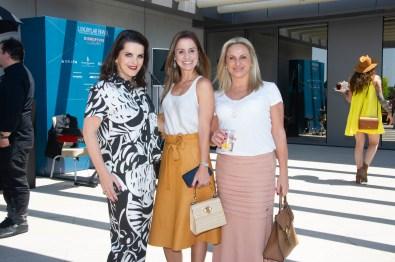 FOTO: Paulah Gauss, Mariana Spezia e Flavia Bonfa - Brunch LuxuryLab Brasil (29/09/2019) ©2019 Samuel Chaves/S4 PHOTOPRESS