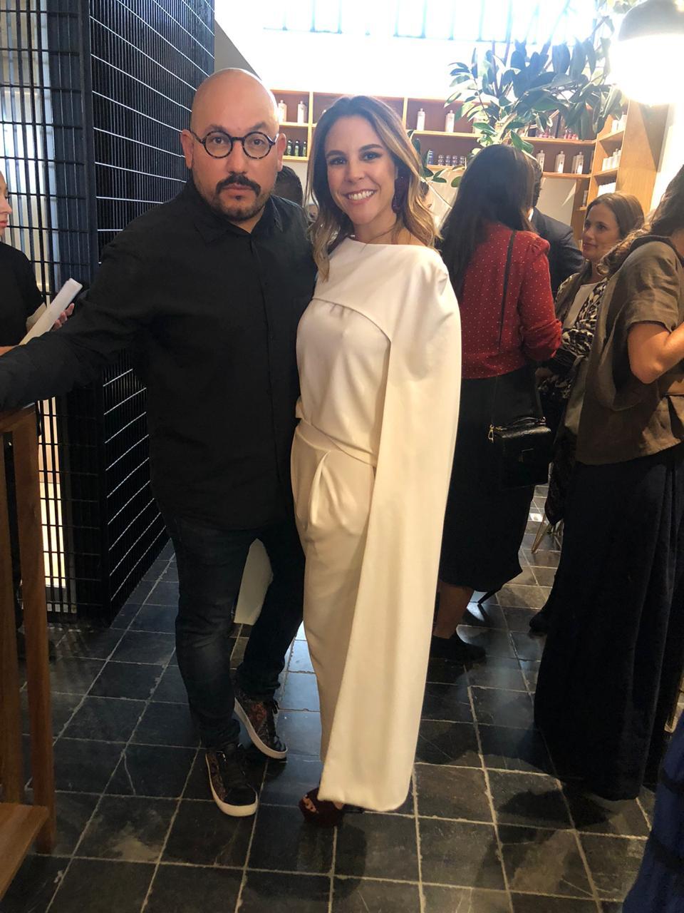 Paulo Orendain y Fabiana Urrea