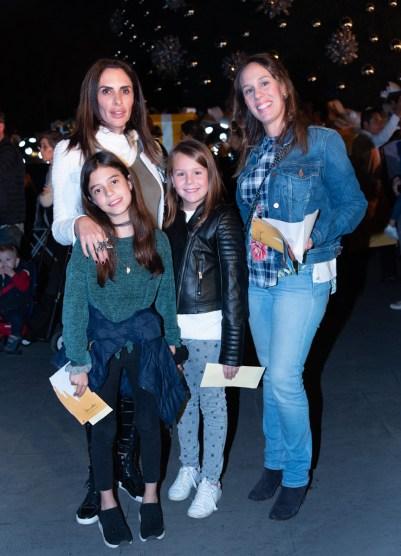 Karla Arelle, Vanessa Guzmán, Trini Maciel, Daniela Arias