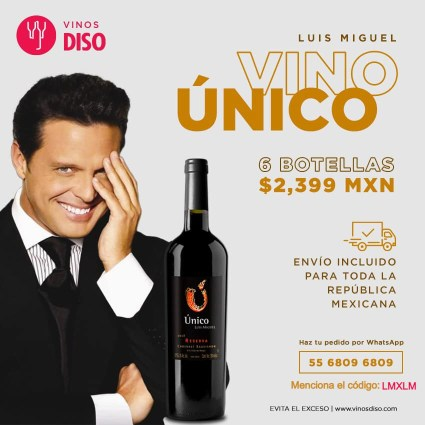 Vino Unico Luis Miguel