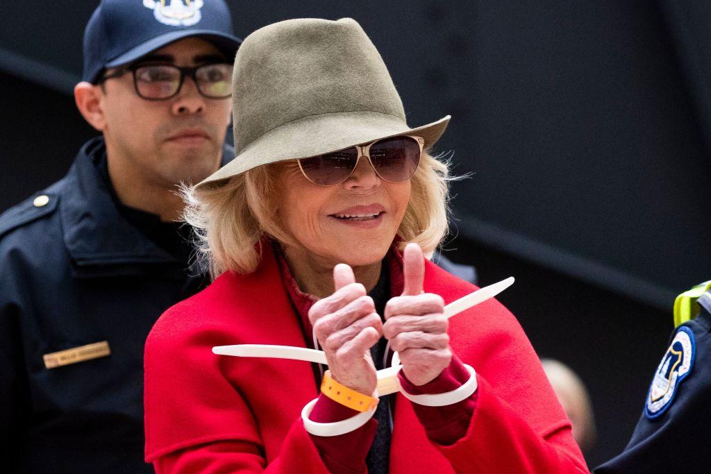 Jane-Fonda-arrestada
