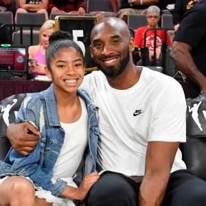 Kobe Bryant y su hija Gianna de 13 años.