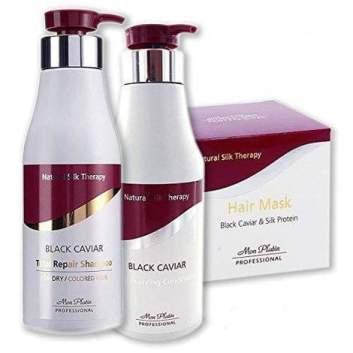 Belleza para el pelo: Mon Platin Black Caviar Natural Silk .
