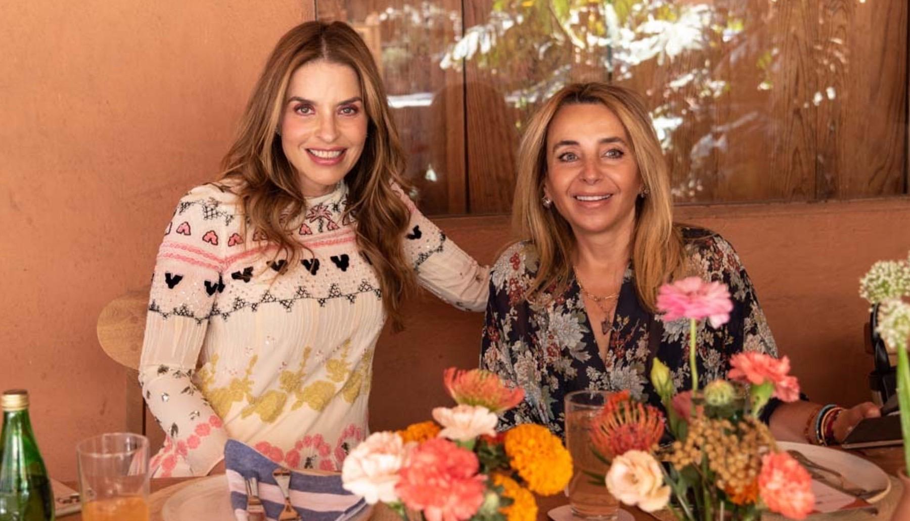 Rossana Lerdo de Tejada y Luisa Serna