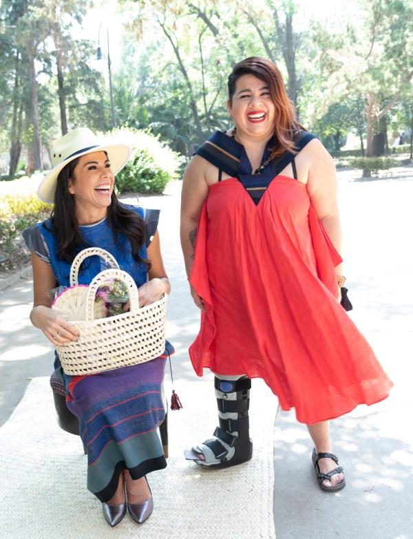 Paola Rojas y Bárbara García