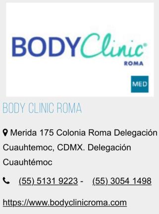 BODYclinic clínica de belleza.