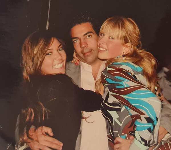 Pablo, Beatriz y Frida Sofía