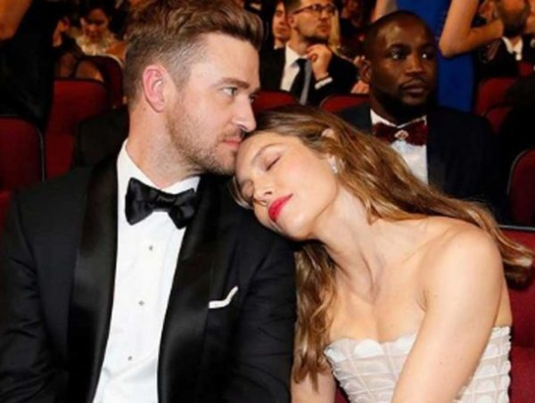Justin Timberlake y Jessica Biel