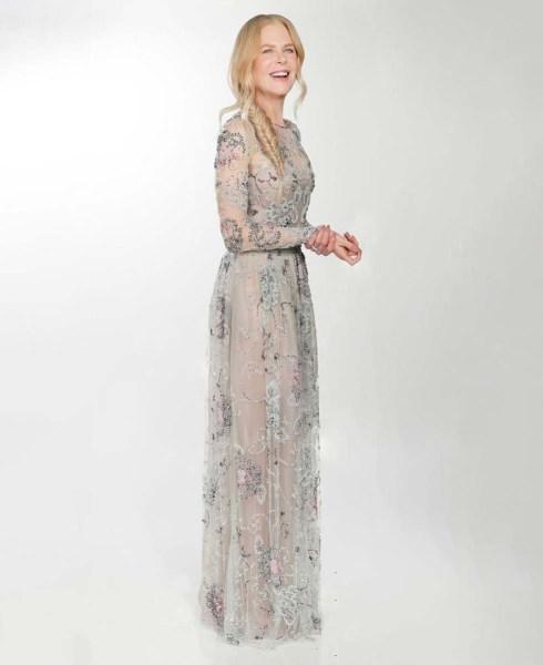 Nicole Kidman en un vestido Armani Privé.